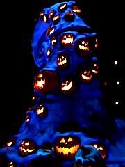 Scary Pumpkins, ©www.my-disneyland-vacation.com
