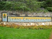Disney's Grand Californian hotel sign